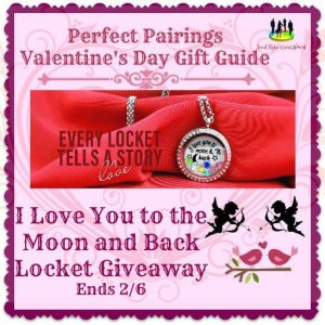 I Love You to the Moon and Back Locket Giveaway Ends 2/6