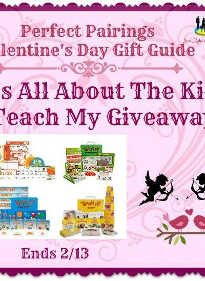 It's All About The Kids Teach My Giveaway Ends 2/13