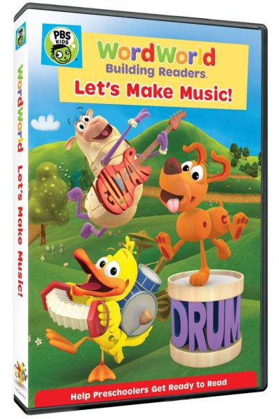 """Sing and Dance with the WordFriends in the New WordWorld DVD """"Let's Make Music""""I"""