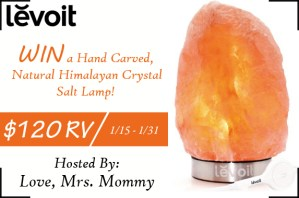 Levoit Salt Lamp Giveaway!