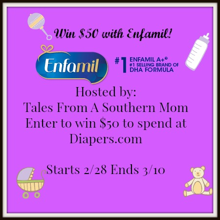 Enfamil $50 For Diapers Giveaway