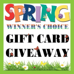 Spring Gift Card  Giveaway