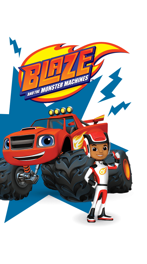 Blaze and the monster machines race into velocityville for Blaze e le mega macchine youtube