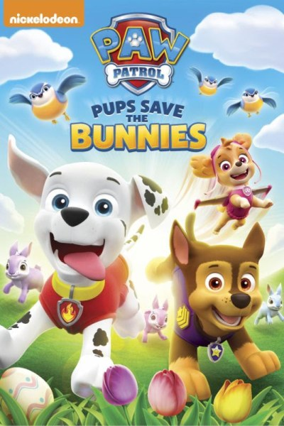 Paw Patrol and Bunnies! Check out their new DVD!
