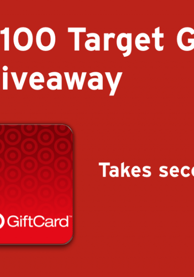Dropprice $100 Target Gift Card Giveaway Ends 4/4