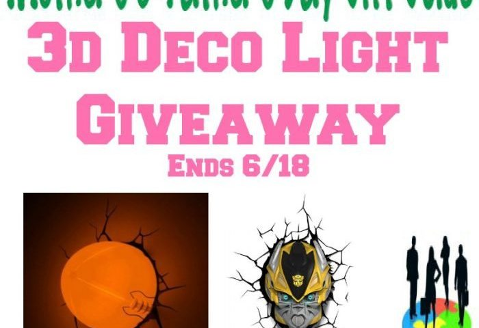 3D Deco Light Giveaway!