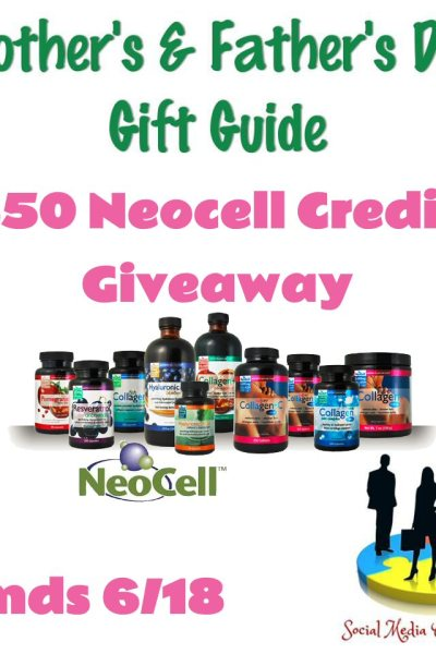 $50 Neocell Father's Day Giveaway Ends 6/18 ~ @SMGurusNetwork @NeoCellHealth