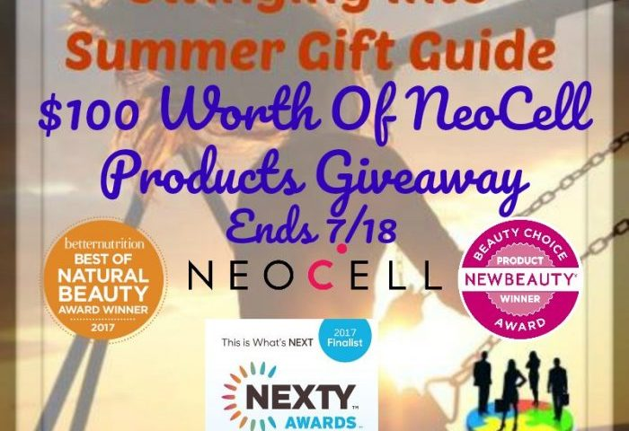 $100 Worth Of NeoCell Products Giveaway Ends 7/18