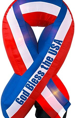 Standard Concession Supply 6 Ft. Patriotic Ribbon Labor Day Giveaway