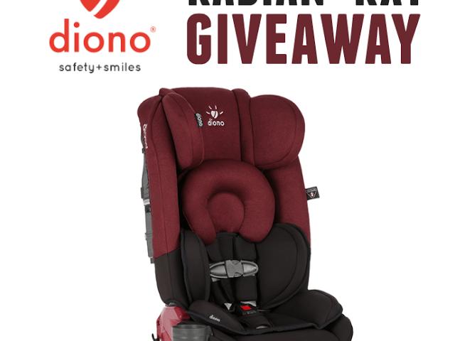 Diono Radian Car Seat Giveaway!