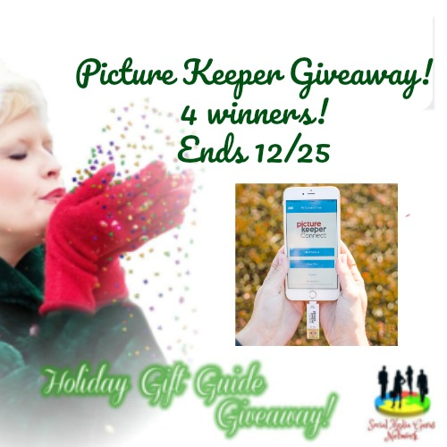 HOLIDAY GIFT GUIDE GIVEAWAY - 4 WIN Picture Keeper Giveaway