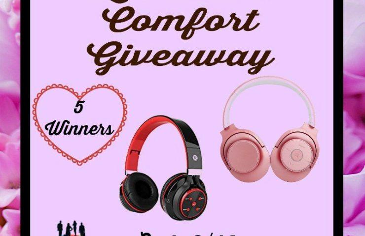 Listen In Comfort Giveaway Ends 2/14 5 Winners