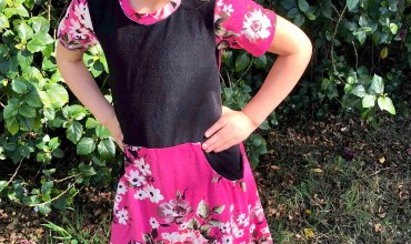 New Pattern from Ellie and Mac! Be Independent Girls Big Pocket Dress