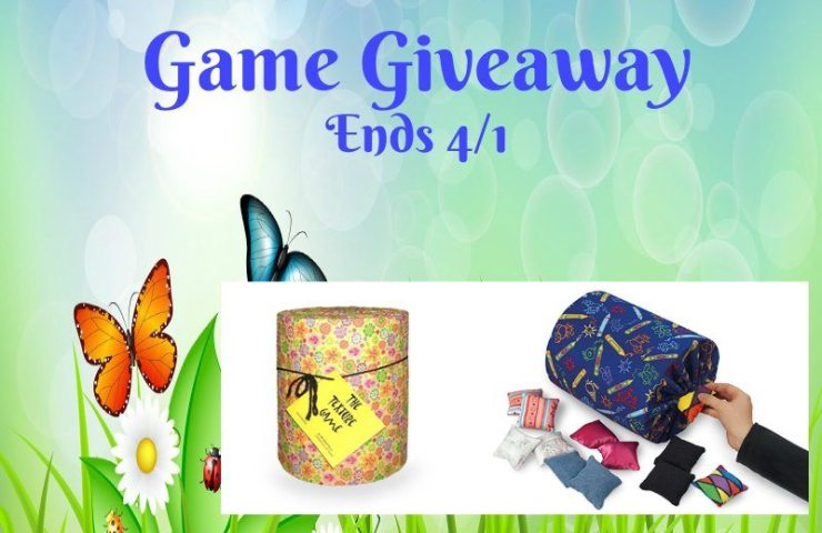 Feel The Fun Texture Game Giveaway Ends 4/1