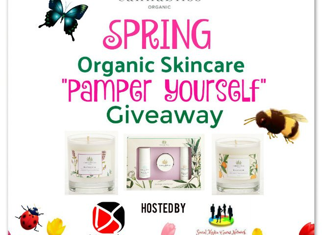 "Cannabliss Spring Organic Skincare ""Pamper Yourself"" Giveaway ~ Ends 3/25"