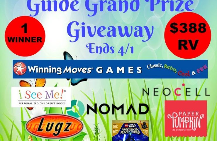 Spring & Easter Gift Guide Grand Prize Giveaway Ends 4/1 $388 rv 1 WINNER