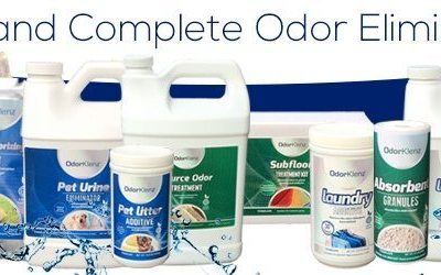 Odors Be Banished with OdorKlenz