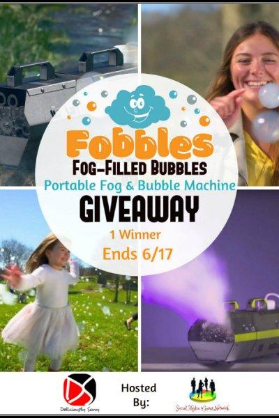 Fobbles Portable Fog & Bubble Machine Giveaway