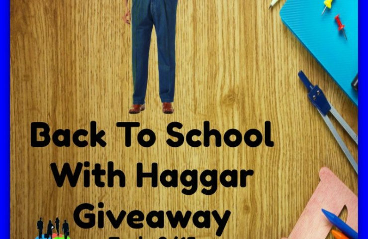 Back To School With Haggar Giveaway Ends 8/15