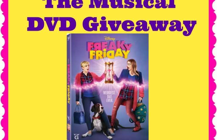 Freaky Friday The Musical DVD Giveaway Ends 10/5