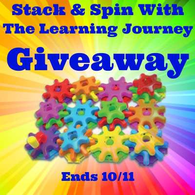 Stack & Spin With Learning Journey Giveaway Ends 10/11