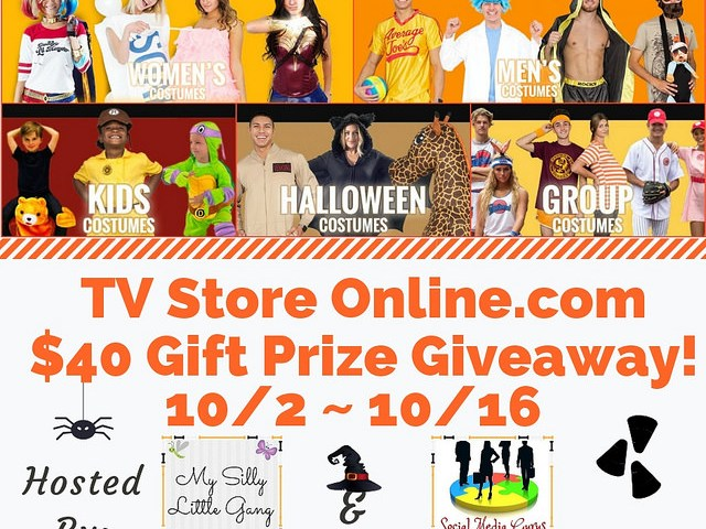 TV Store Online.com $40 Gift Prize Giveaway Ends 10/16