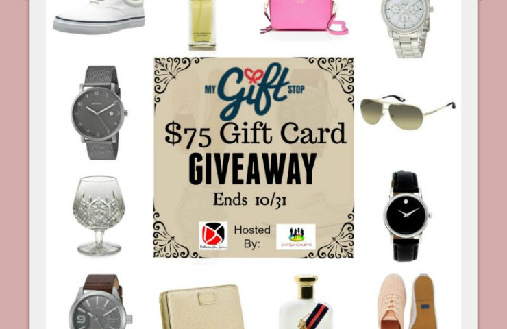 MyGiftStop.com $75 Gift Card Giveaway! Ends 10/31