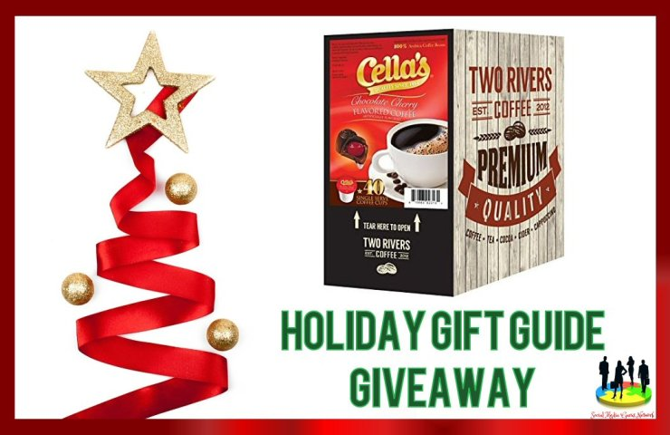 Cella's Chocolate Cherry Coffee 2018 Holiday Gift Guide Giveaway ends 12/15