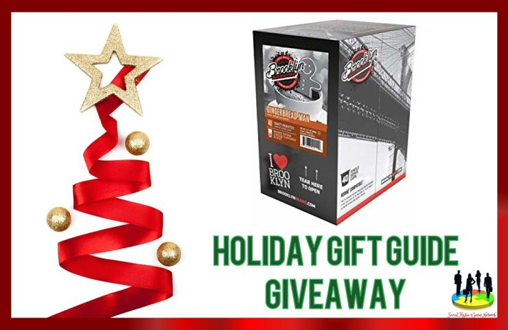 Brooklyn Bean Roastery Gingerbread Man Coffee 2018 Holiday Gift Guide Giveaway ends 12/15