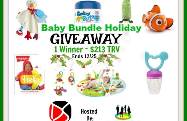 Baby Bundle Holiday Giveaway (1 Winner ~ $213 TRV)