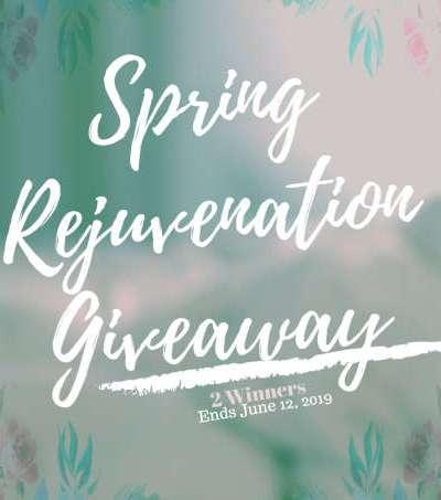 Spring Rejuvenation Giveaway