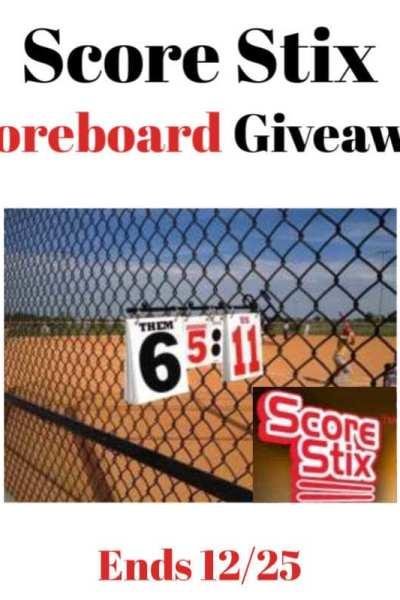 Score Stix Scoreboard Giveaway Ends 12/25