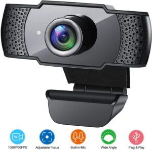 1080P HD Streaming USB Computer Webcam