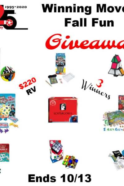 Winning Moves Fall Fun Giveaway