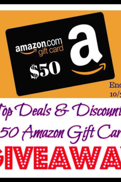 Top Deals & Discounts $50 Amazon Gift Card Giveaway
