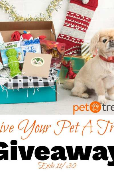 Give Your Pet A Treat Giveaway