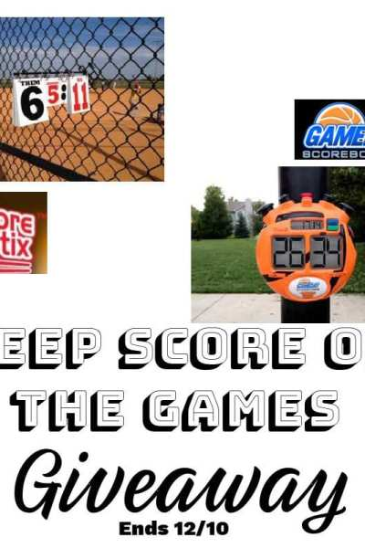 Keep Score Of The Games Giveaway
