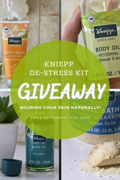 Kneipp De-Stress Kit Giveaway (Ends 12/11) @KneippUSA