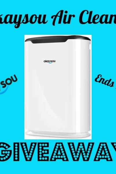 Okaysou Air Cleaner Giveaway