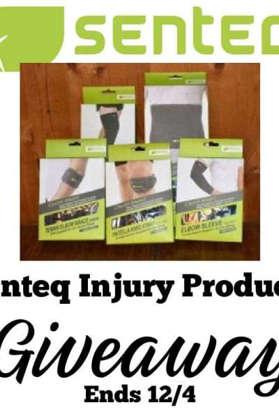 Senteq Injury Products Giveaway
