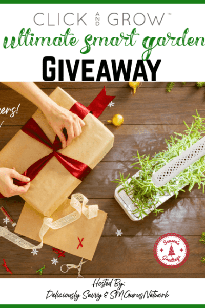 Click and Grow Ultimate Smart Garden Giveaway
