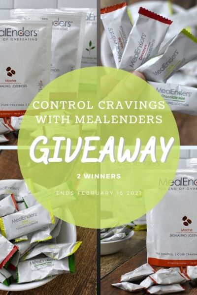 Control Cravings With @MealEnders Giveaway (2 Winners ~ Ends 2/16)