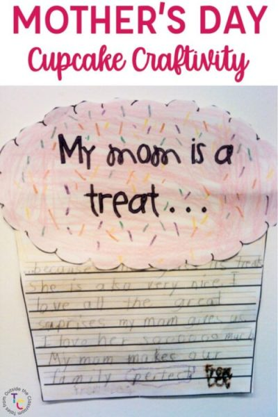 Mother's Day Cupcake craft