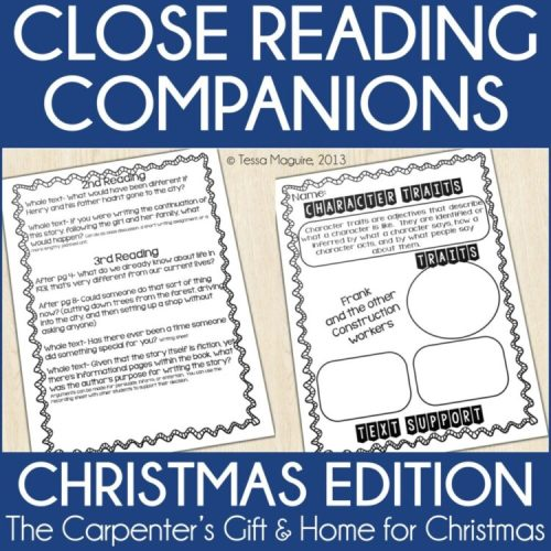 Close Reading with Christmas texts