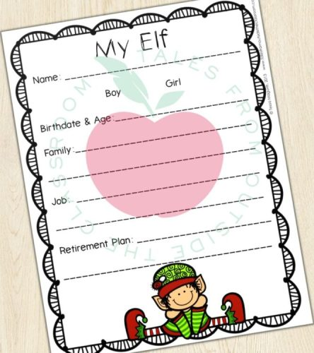Elf life planning page