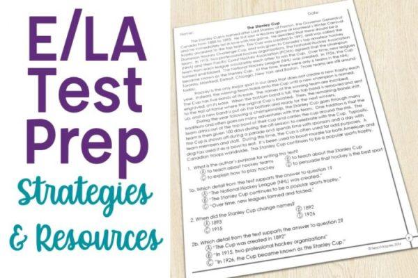 Test Prep Resources for E/LA