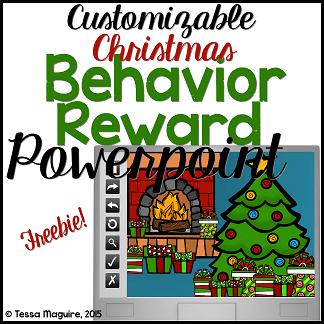 Christmas Behavior Incentive Powerpoint