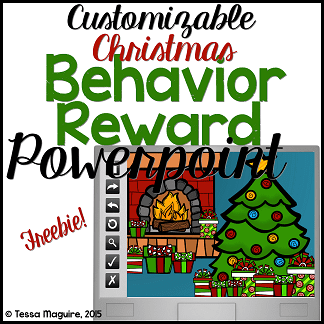 Christmas Behavior Incentive Powerpoint