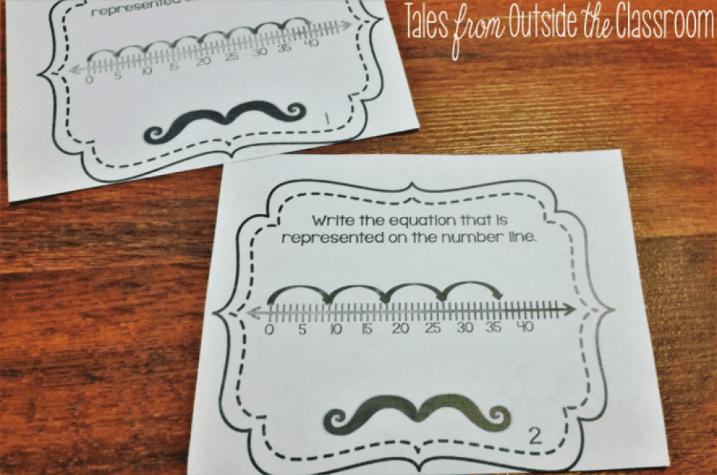Division on a number line