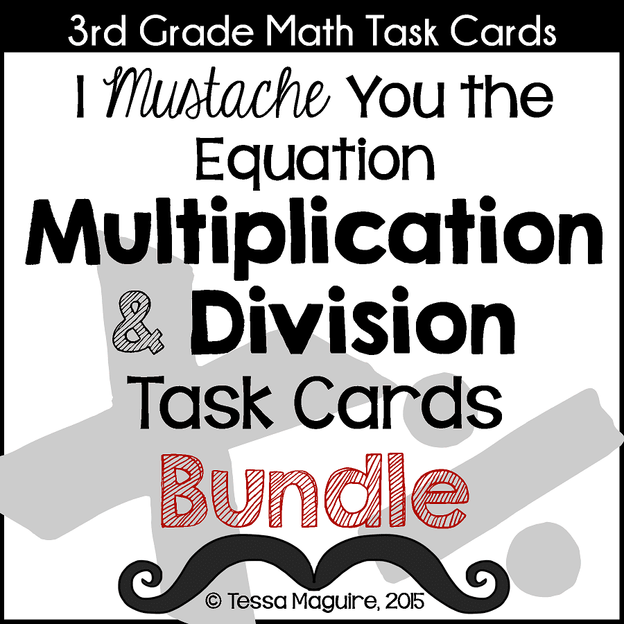 Multiplication & Division bundle